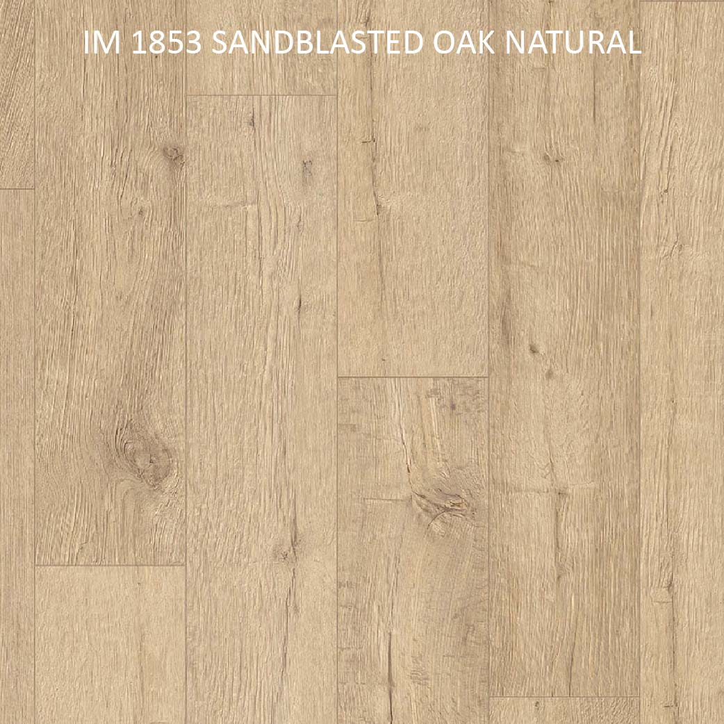 IM 1853 SANDBLASTED OAK NATURAL