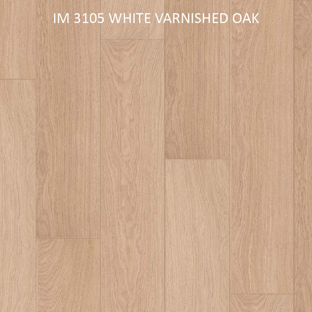 IM 3105 WHITE VARNISHED OAK