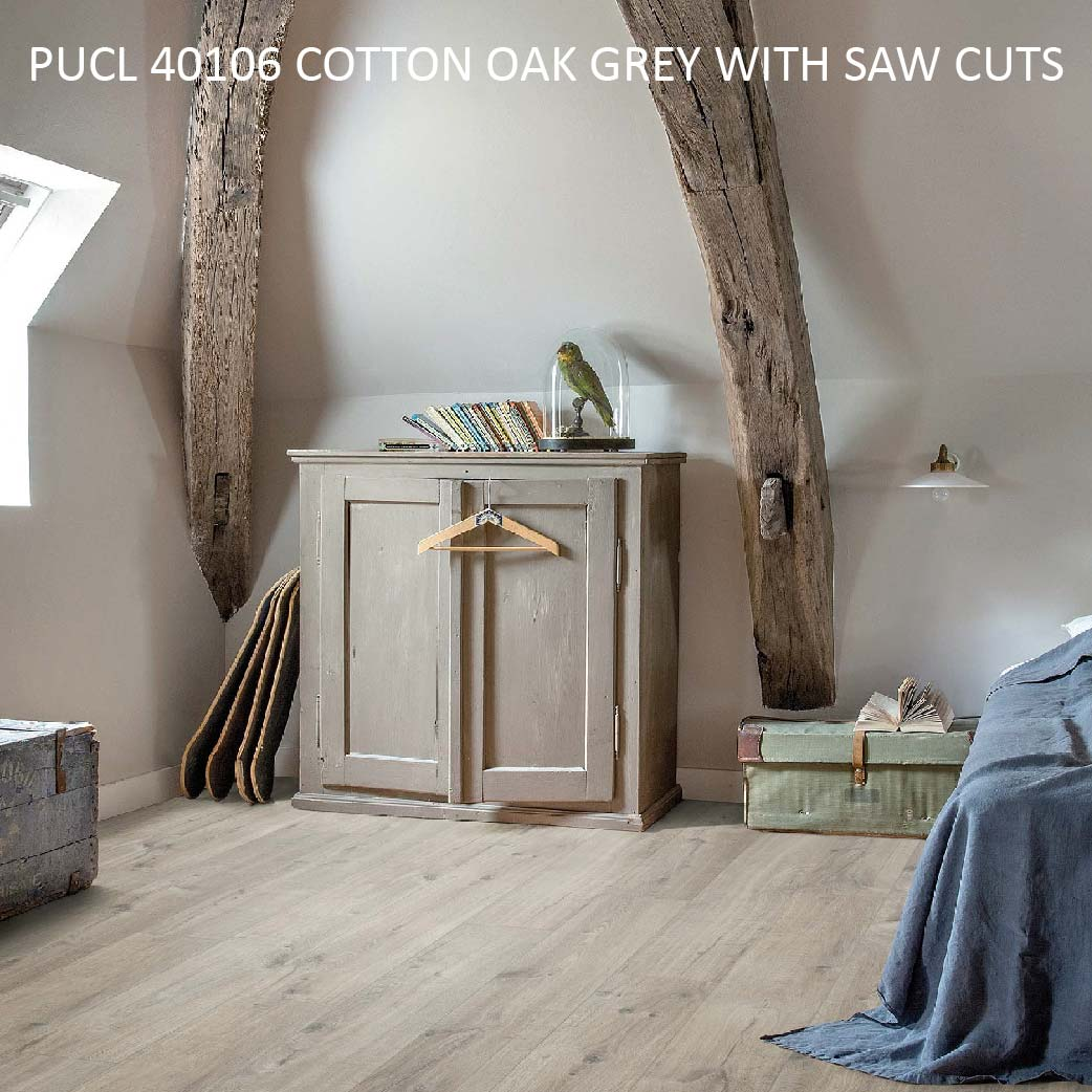 PUCL40106 COTTON OAK GREY WITH SAW CUTS