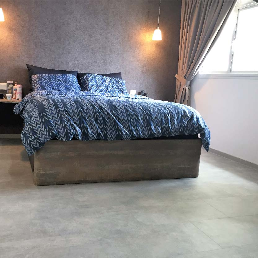 Master Bedroom Lurf 40050 Warm Grey Concrete