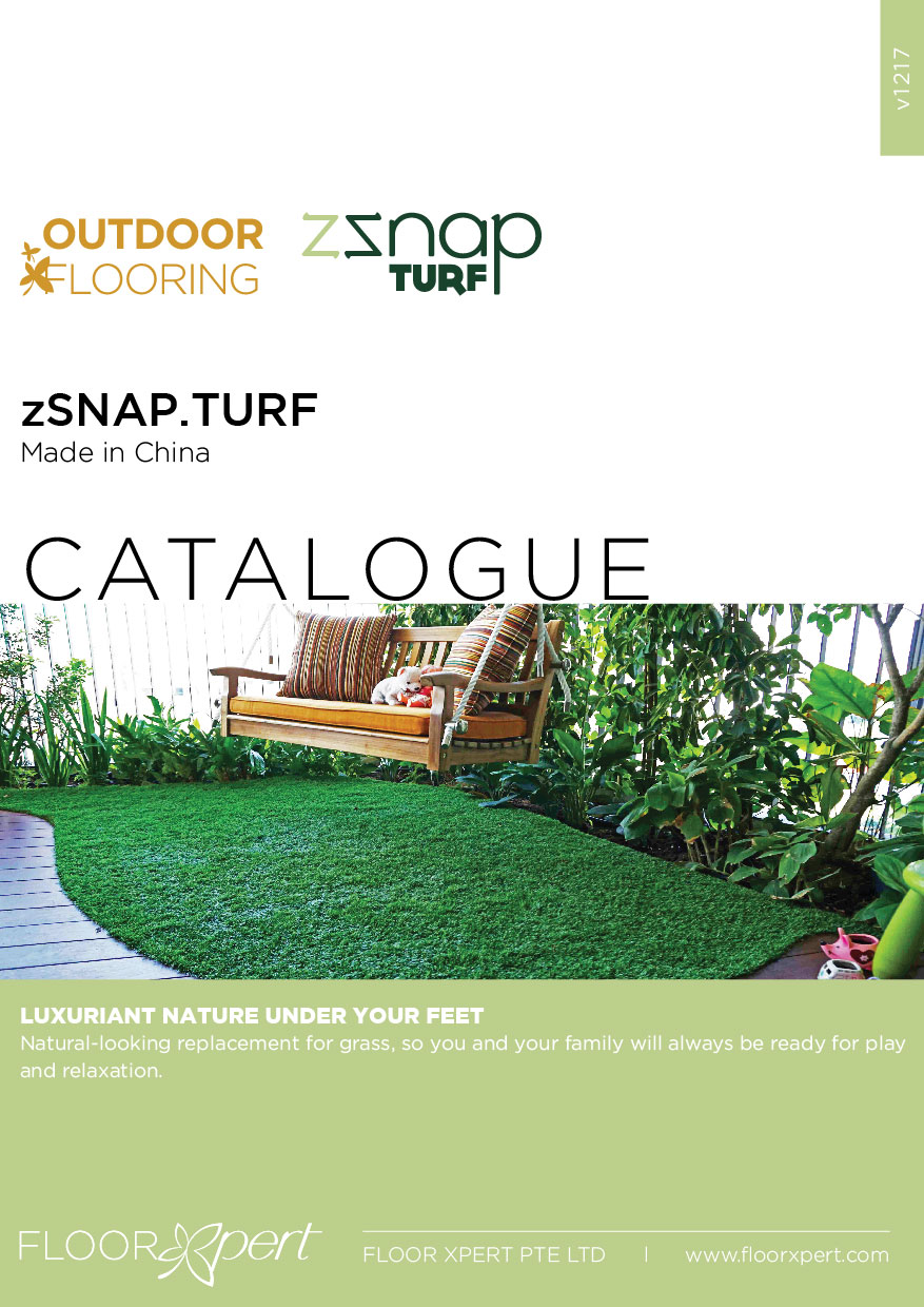 zSNAP TURF CATALOGUE