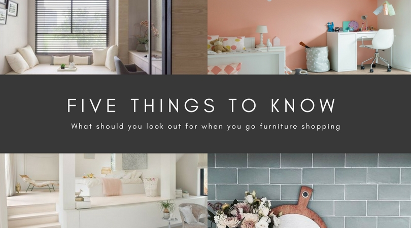 Five Things To Take Note When You Are Selecting Your Furniture
