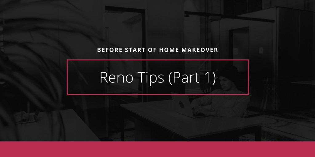 Reno Tips (Part 1)