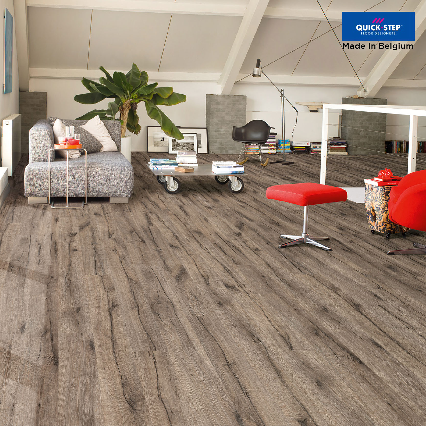 ELIGNA WIDE UW1545 Reclaimed Oak Brown