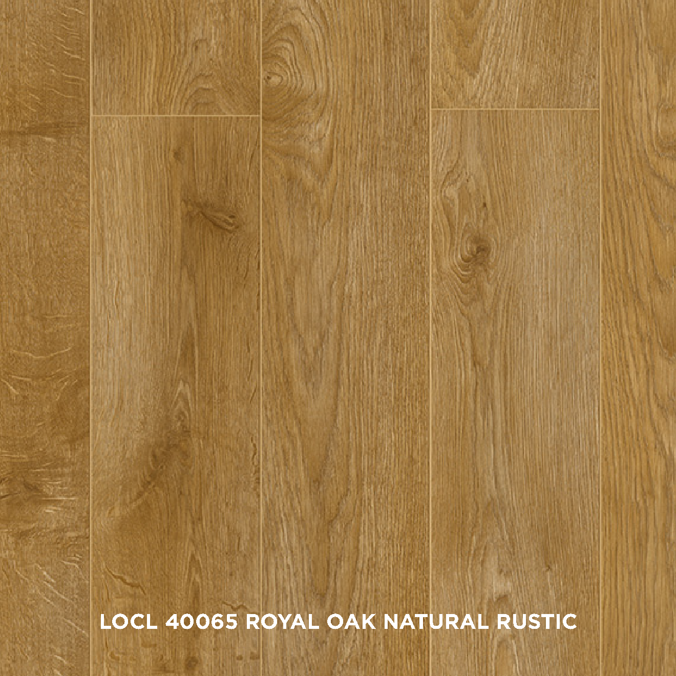 LOCL 40065 ROYAL OAK NATURAL RUSTIC